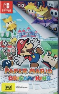 Paper Mario: The Origami King Box Art