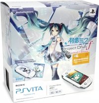 Sony PlayStation Vita PCHAS-1106K - Hatsune Miku: Project Diva F Limited Edition Box Art