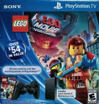 Sony PlayStation TV VTE-1001 AB12 - Lego: The Movie: Video Game [US] Box Art