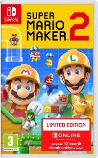 Super Mario Maker 2 - Limited Edition Box Art