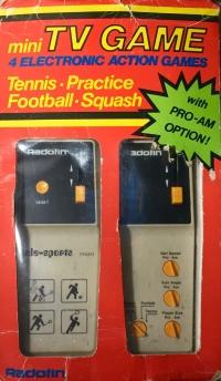 Radofin Tele-sports mini Box Art