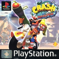 Crash Bandicoot 3: Warped Box Art