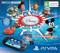 Sony PlayStation Vita PCH-2008 - PS Vita Disney Mega Pack Box Art