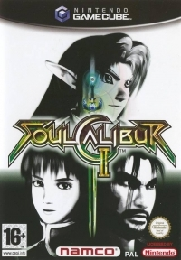 SoulCalibur II [NL] Box Art
