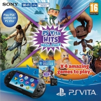 Sony PlayStation Vita PCH-2016 - Hits Mega Pack [EU] Box Art