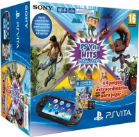 Sony PlayStation Vita PCH-2016 - Hits Mega Pack [ES] Box Art