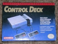 Nintendo Entertainment System - Control Deck Box Art