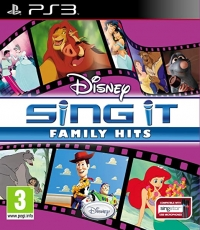 Disney Sing It Familly Hit Box Art
