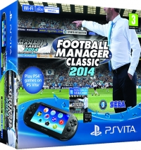 Sony PlayStation Vita PCH-2003 - Football Manager Classic 2014 Box Art