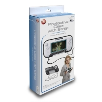 Protective Case with Neck Strap for Wii U GamePad Box Art