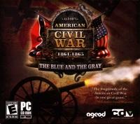 Ageod's American Civil War: 1861-1865: The Blue and the Gray (jewel case / ESRB E left) Box Art