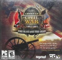 Ageod's American Civil War: 1861-1865: The Blue and the Gray (jewel case / ESRB E right) Box Art