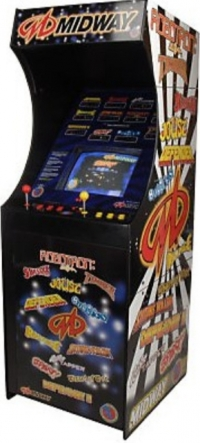 Big Electronic Games Midway Arcade Box Art