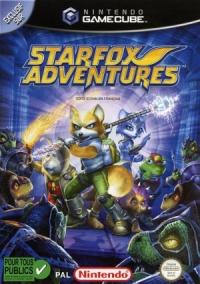 Starfox Adventures Box Art