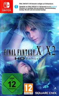 Final Fantasy X | X-2 HD Remaster [DE] Box Art