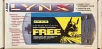 Atari Lynx - Batman Returns (yellow label) Box Art