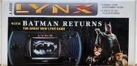 Atari Lynx - Batman Returns (large label) Box Art
