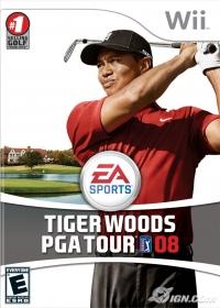 Tiger Woods PGA Tour 08 Box Art