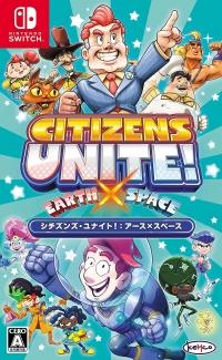 Citizens Unite!: Earth x Space Box Art