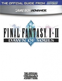 Final Fantasy I & II: Dawn of Souls - The Official Nintendo Player's Guide Box Art