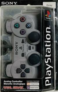 Sony PlayStation Dual Shock Controller - Gray Box Art