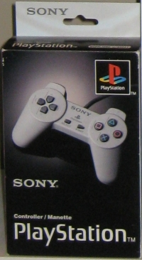 Sony PlayStation Controller Box Art