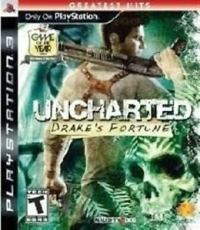 Uncharted: Drake's Fortune - Greatest Hits Box Art