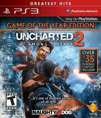 Uncharted 2: Among Thieves - Game of the Year Edition - Greatest Hits Box Art