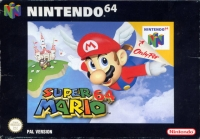 Super Mario 64 Box Art