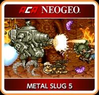 ACA NeoGeo: Metal Slug 5 Box Art