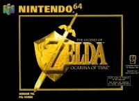 Legend of Zelda, The: Ocarina of Time Box Art
