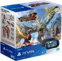 Sony PlayStation Vita PCH-2007 - Monster Hunter Frontier G (Black) Box Art