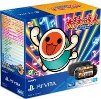 Sony PlayStation Vita PCH-2007 - Taiko no Tatsujin: V Version (Black) Box Art