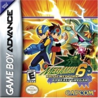 Mega Man Battle Network 6: Cybeast Gregar Box Art