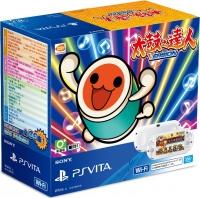 Sony PlayStation Vita PCH-2007 - Taiko no Tatsujin: V Version (White) Box Art