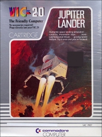 Jupiter Lander Box Art