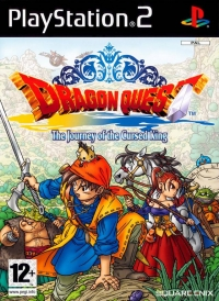 Dragon Quest: The Journey of the Cursed King Box Art