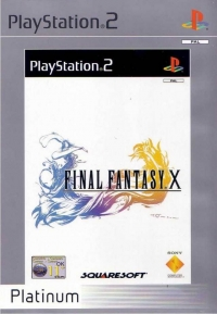 Final Fantasy X - Platinum Box Art