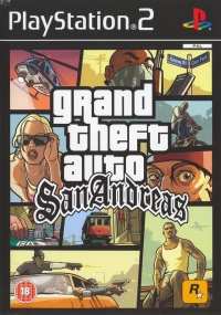 Grand Theft Auto: San Andreas [UK] Box Art