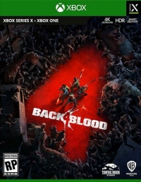 Back 4 Blood Box Art