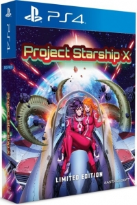 Project Starship X - Limited Edition Box Art