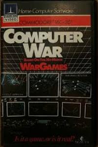 Computer War Wargames Box Art