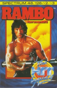 Rambo: First Blood Part II - The Hit Squad Box Art
