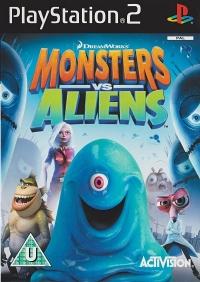 Monsters vs Aliens Box Art