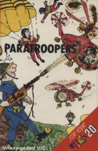 Paratroopers Box Art
