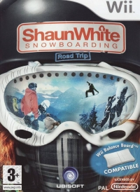 Shaun White Snowboarding: Road Trip Box Art