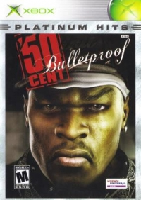 50 Cent: Bulletproof - Platinum Hits Box Art
