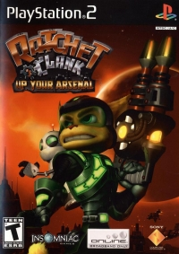 Ratchet & Clank: Up Your Arsenal Box Art