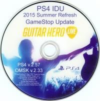 PS4 IDU 2015 Summer Refresh GameStop Update Box Art