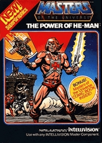 Masters of the Universe: The Power of He-Man Box Art